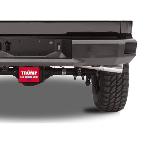 Image of Trump Trailer Hitch Covers (Multiple Options)(Made In The USA!)