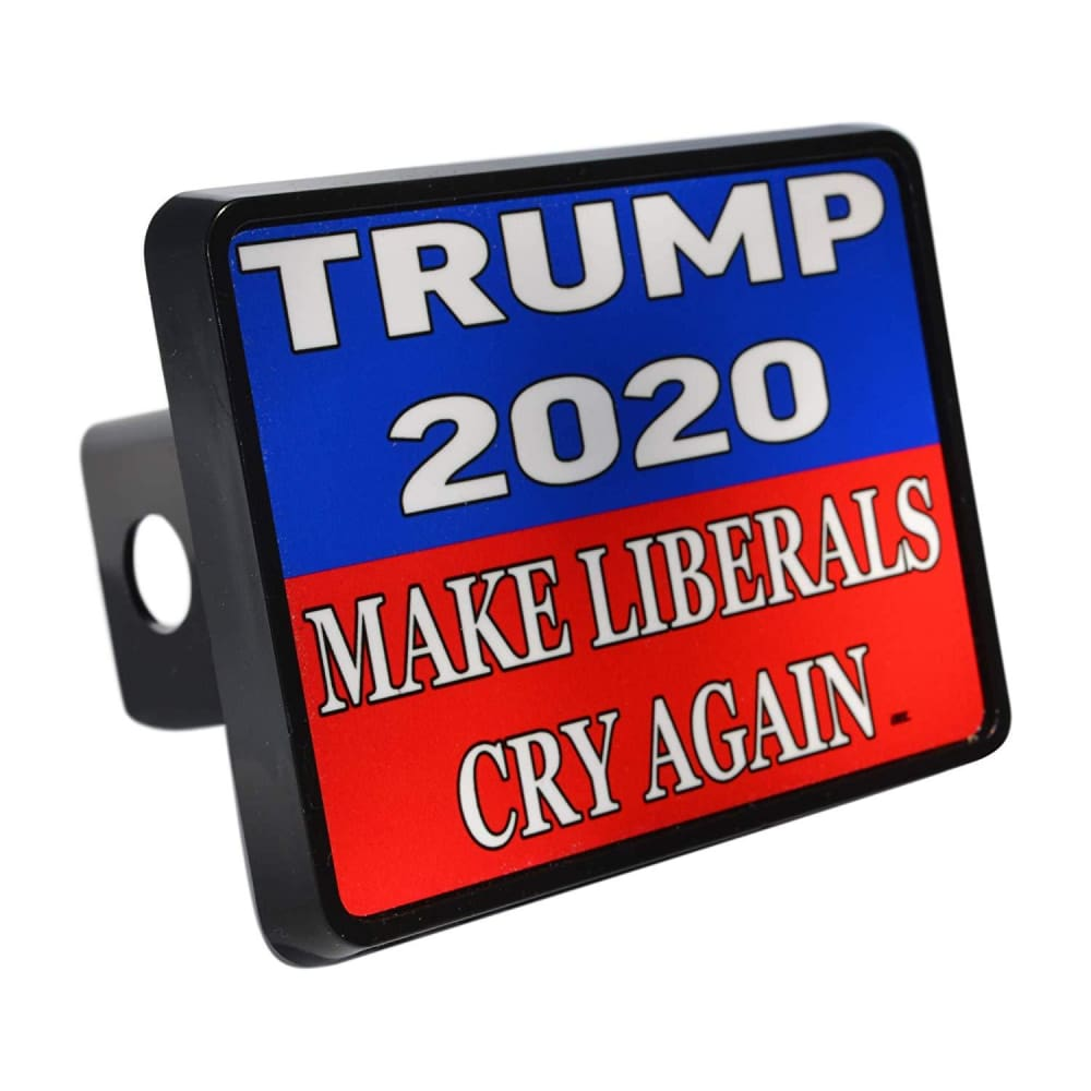 Trump Trailer Hitch Covers (Multiple Options)(Made In The USA!) - Make Liberals Cry Again