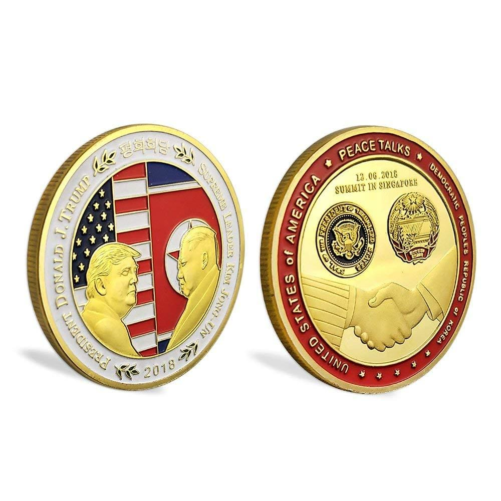 Trump/Kim Summit Coin (Design 1) - Coin