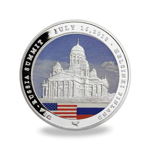 Image of Trump/Putin Summit Coin (Design 4)