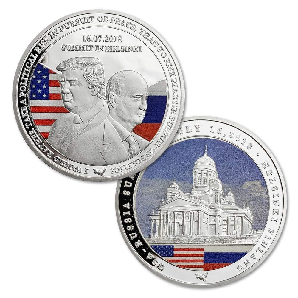 Trump/Putin Summit Coin (Design 4)
