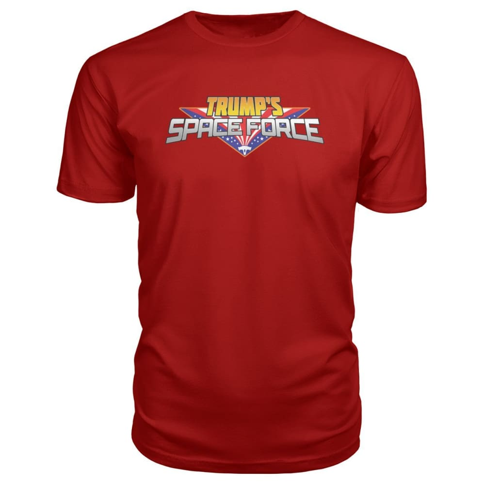 Trumps Space Force Premium Tee - Red / S - Short Sleeves