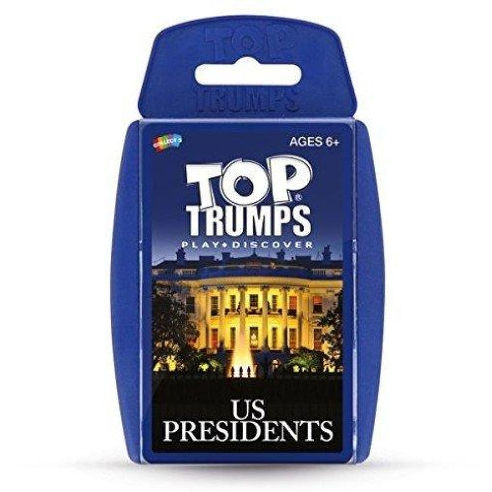 Trumps US Presidents Card Game