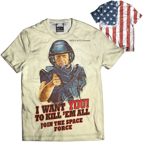 I Want You Mattis Tee