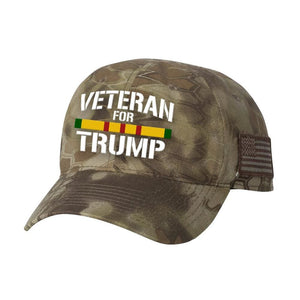 Vietnam Veteran For Trump Kryptek Hat - Highlander - Hats