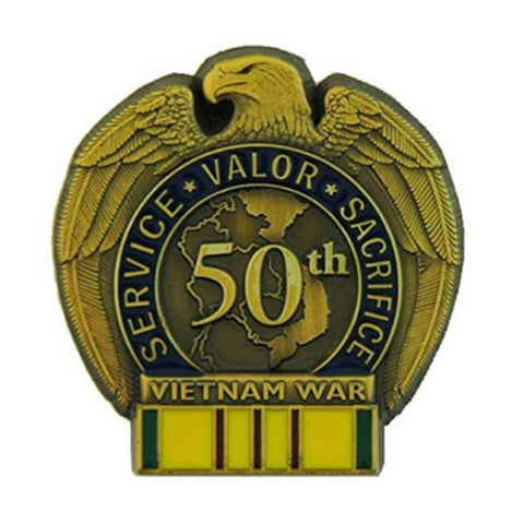 Vietnam War 50th Anniversary Commemorative Insignia (Pin) - Coin