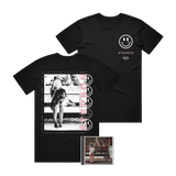 Stepson - 'Help Me, Help You' CD + Tee Pre-Order Bundle