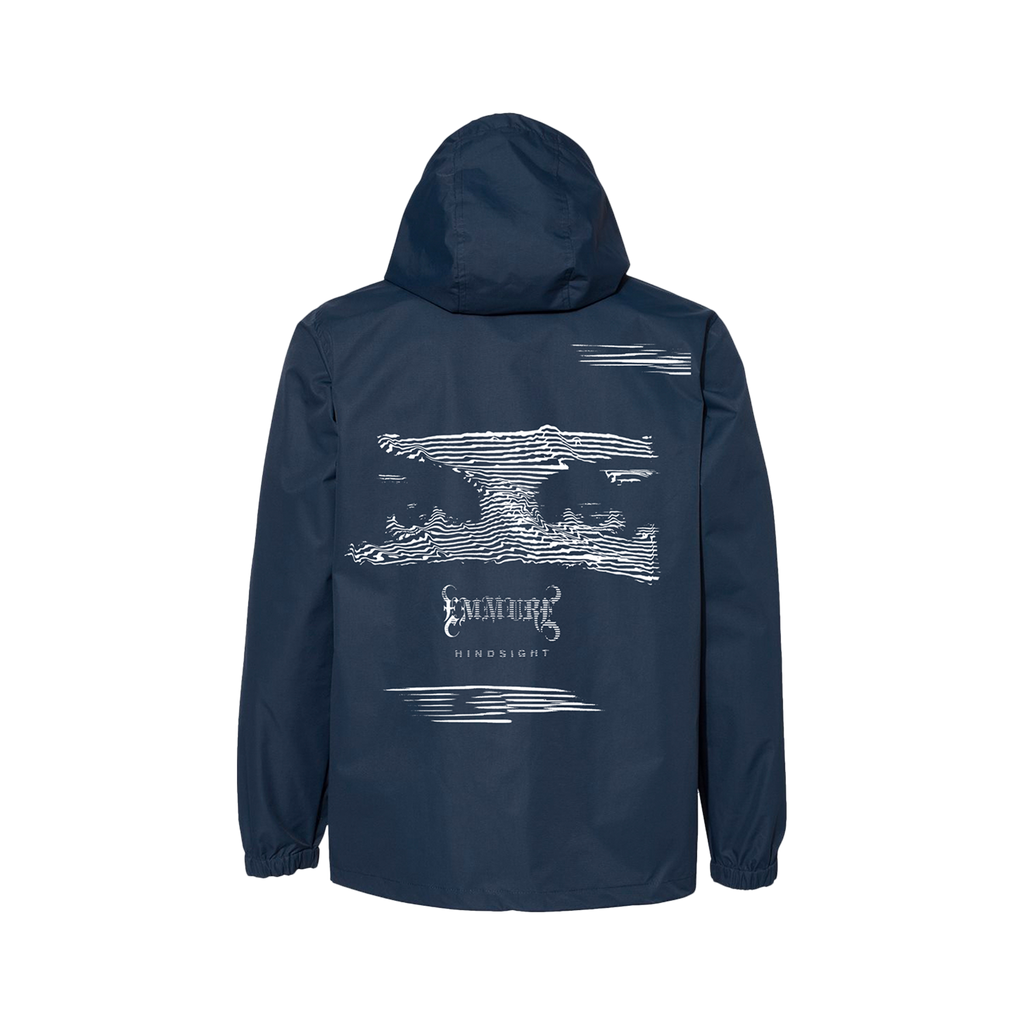 Emmure - Hindsight Navy Windbreaker