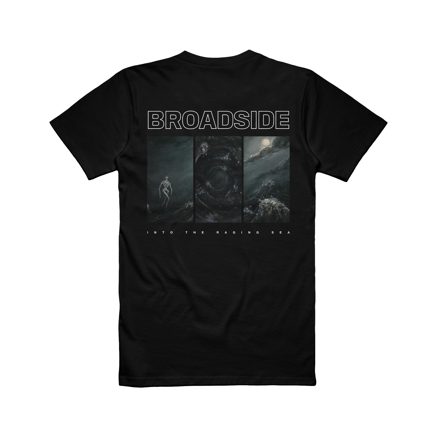 Broadside - Into The Raging Sea Album Art Tee