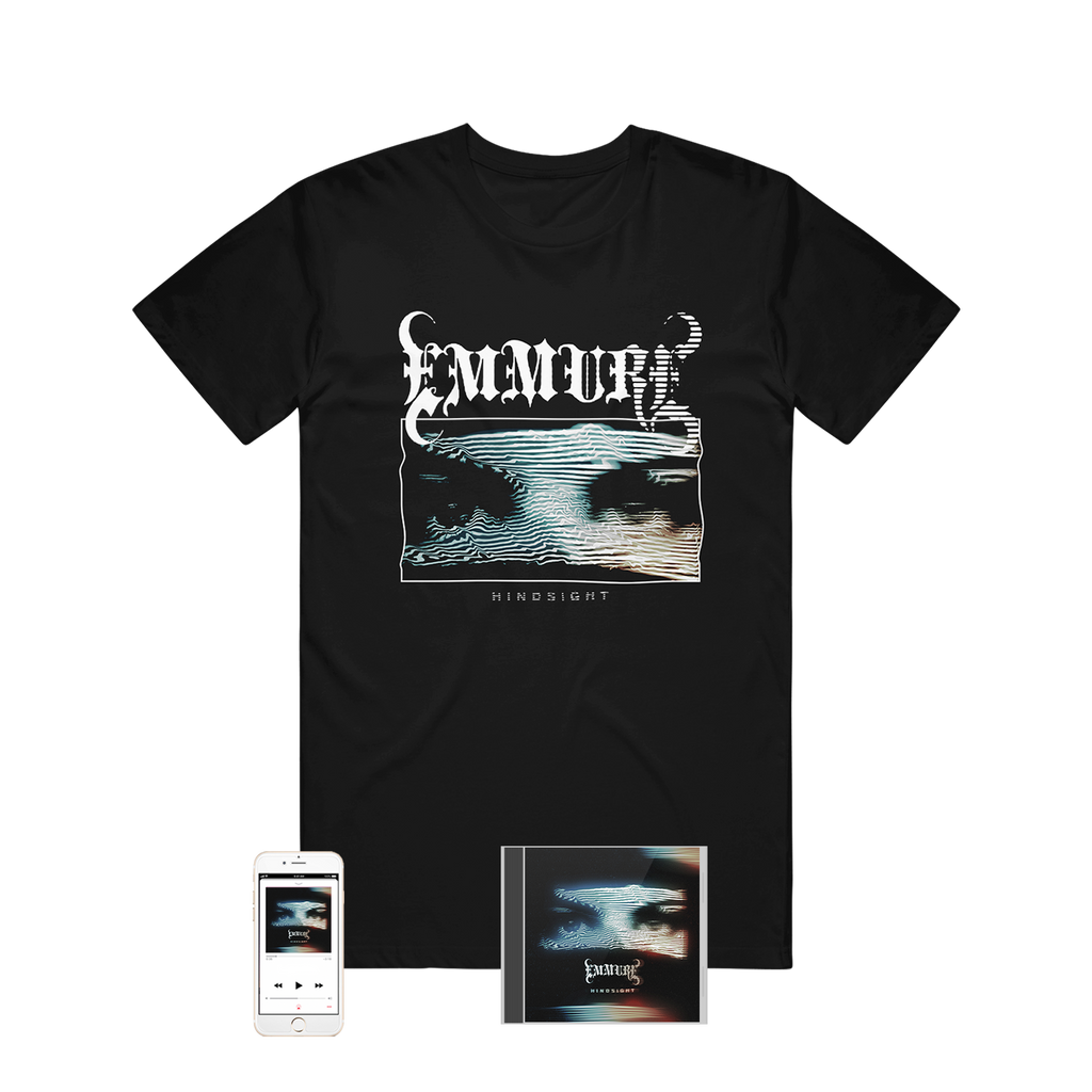 Emmure - 'Hindsight' Album Tee Pre-Order Bundle