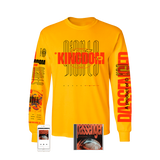 Kingdom Of Giants - 'Passenger' Yellow Long Sleeve Pre-Order Bundle