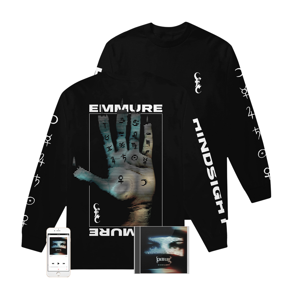 Emmure - 'Hindsight' Hand of Glory Long Sleeve Pre-Order Bundle