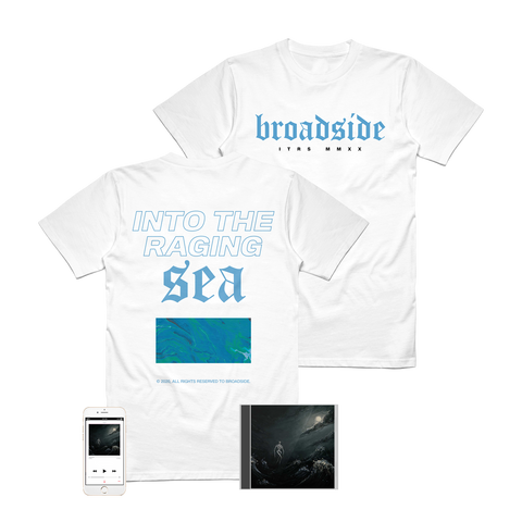 Broadside - 'Into The Raging Sea' ITRS Tee Pre-Order Bundle