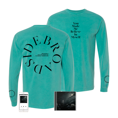 Broadside - 'Into The Raging Sea' Circles Long Sleeve Pre-Order Bundle