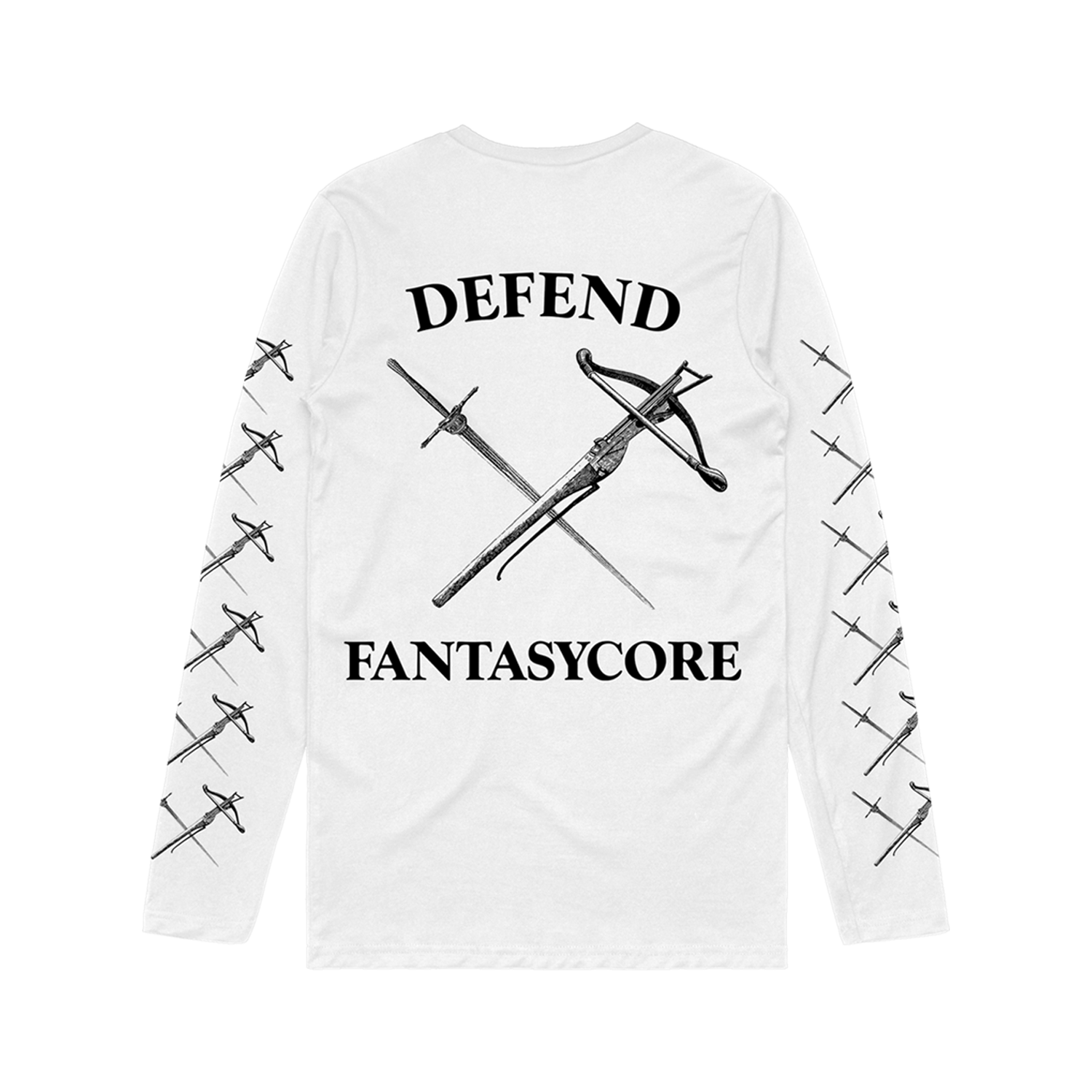 The Wise Man's Fear - Defend Fantasycore Long Sleeve