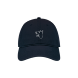 Stuck Out - Navy Growl Hat Pre-Order