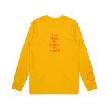 Broadside - Yellow Circles Long Sleeve