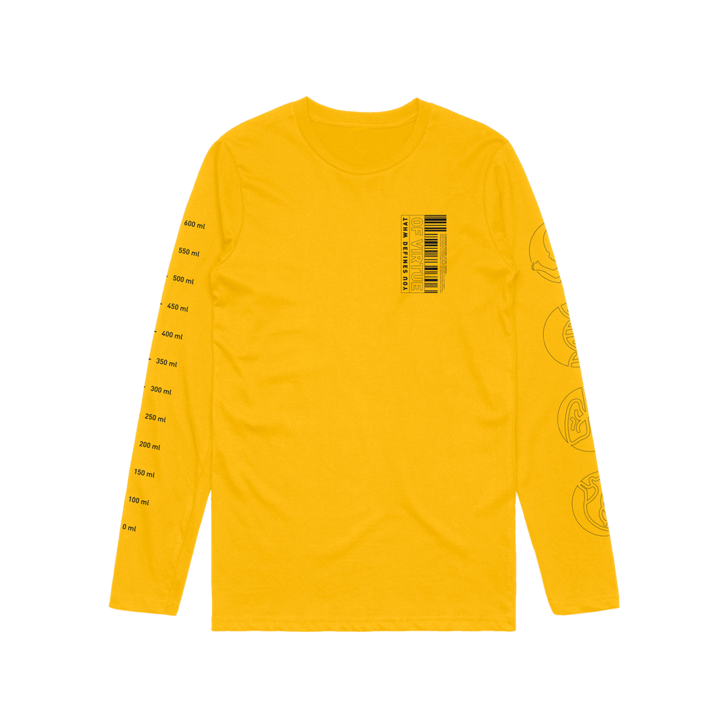 Of Virtue - Barcode Long Sleeve