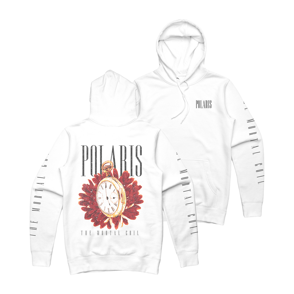 Polaris - Time Keeper White Hoodie