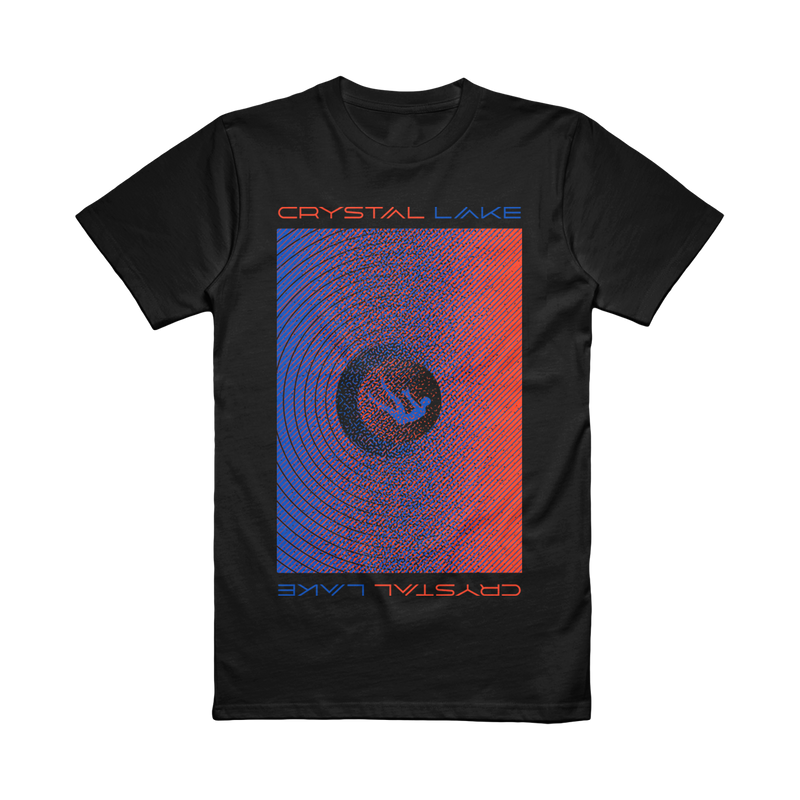 Crystal Lake - Digital Spiral Tee