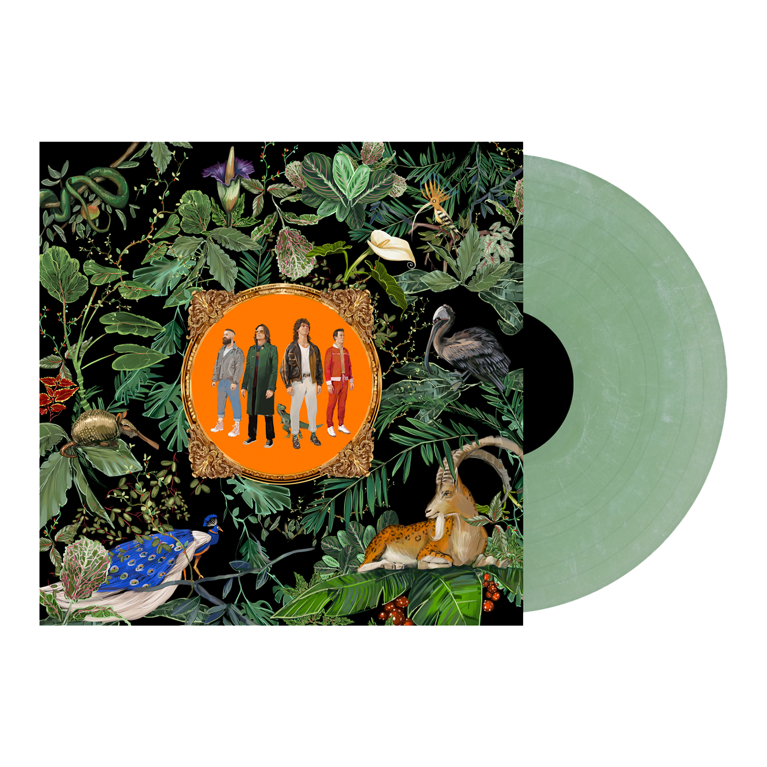 Don Broco - 'Amazing Things' Green Marble Vinyl Pre-Order