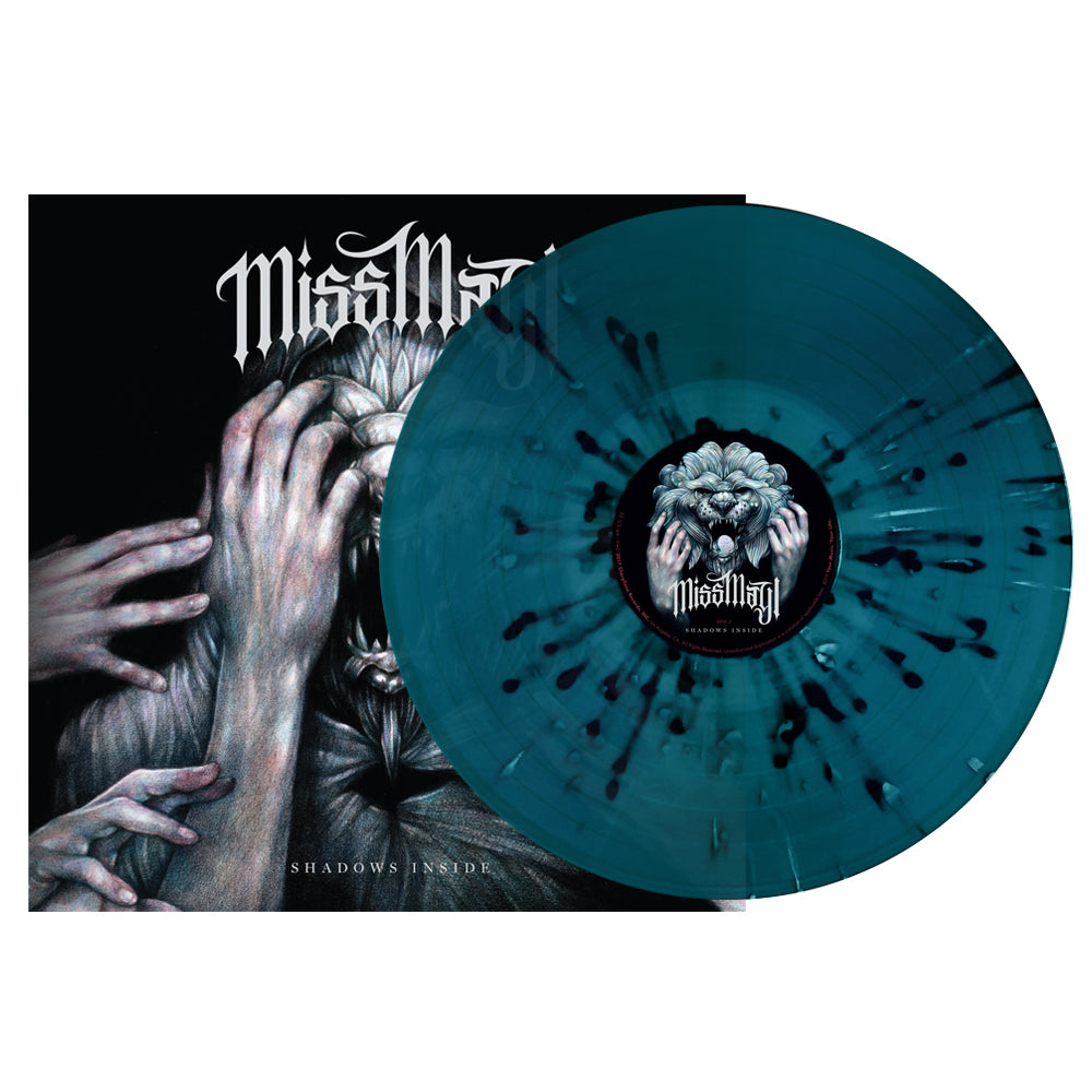 Miss May I - 'Shadows Inside' Sea Blue Vinyl