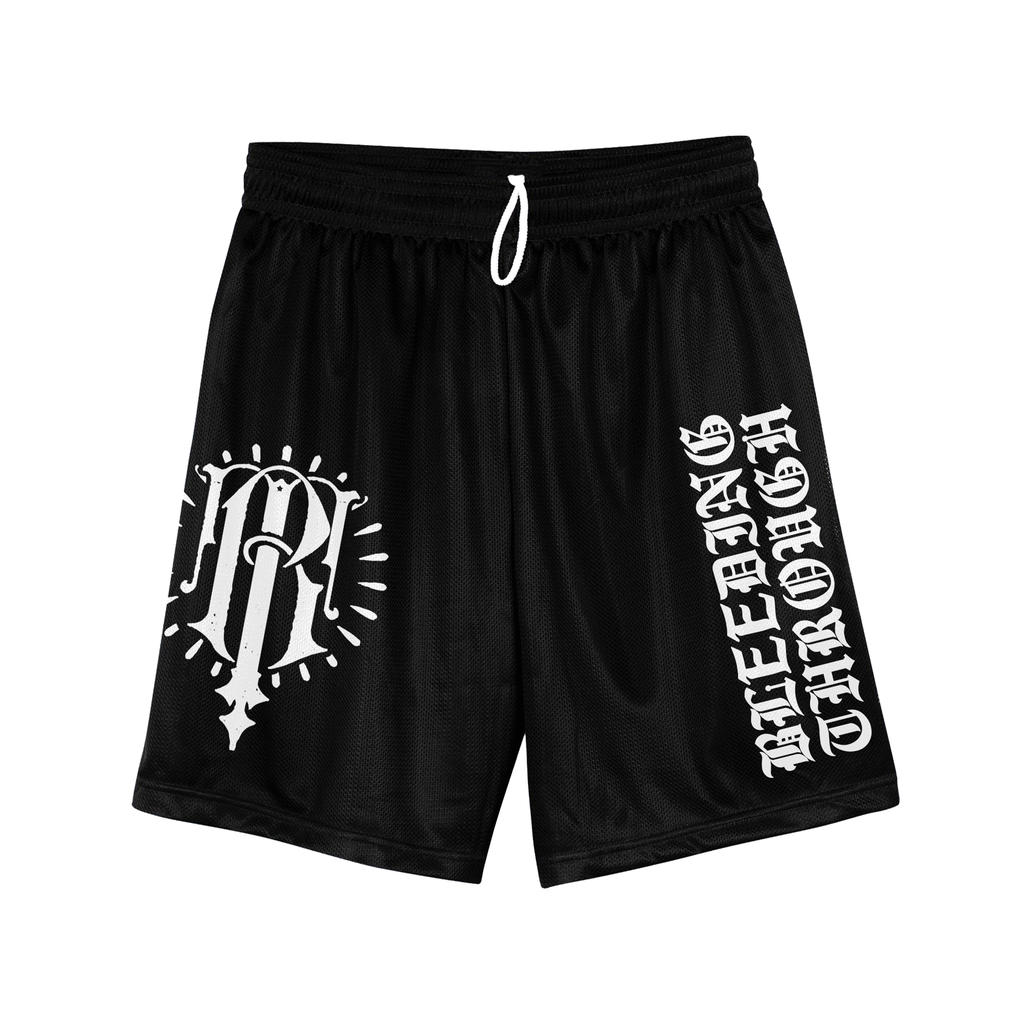 Bleeding Through - Emblem Gym Shorts