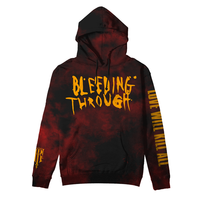 World War Me - Icon Splatter Dye Hoodie