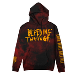 Bleeding Through - LWKA Custom Dye Hoodie