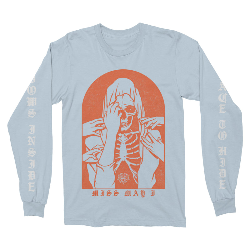 Miss May I - No Place To Hide Light Blue Long Sleeve