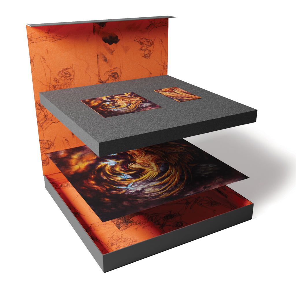 Alpha Wolf - 'A Quiet Place To Die' Limited Edition Vinyl Box Set