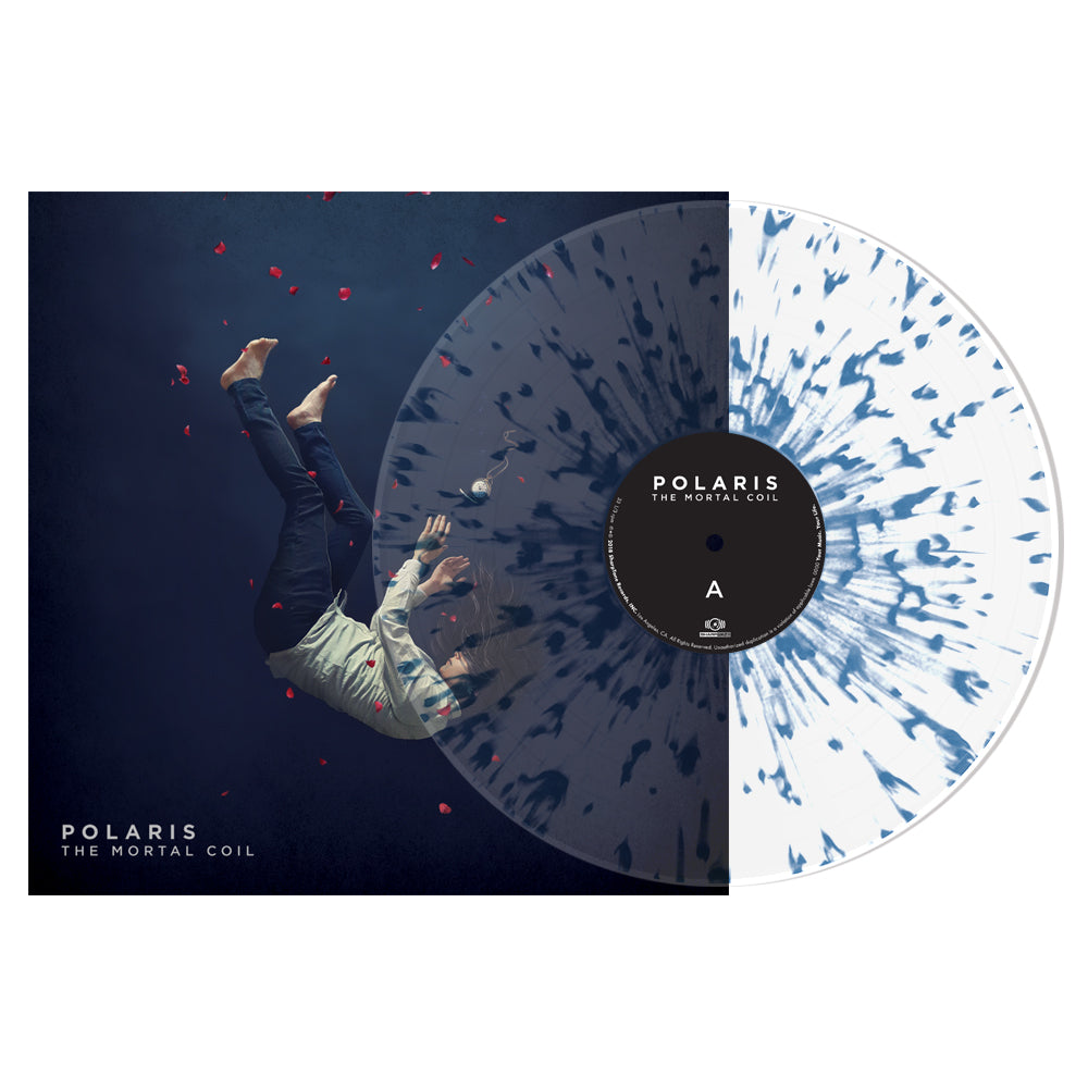 Polaris - 'The Mortal Coil' Clear with Blue Splatter Vinyl