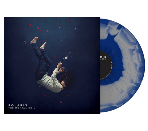 Polaris - 'The Mortal Coil' Blue & Grey Swirl w/ Black Splatter Vinyl