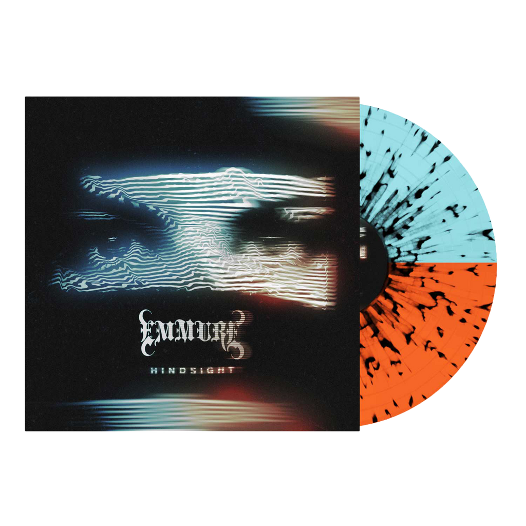 Emmure - 'Hindsight' Orange/Blue Half/Half w/Black Splatter Vinyl