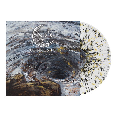 Currents - 'The Way It Ends' Milky Clear w/Black, Yellow, & Grey Splatter Vinyl Pre-Order
