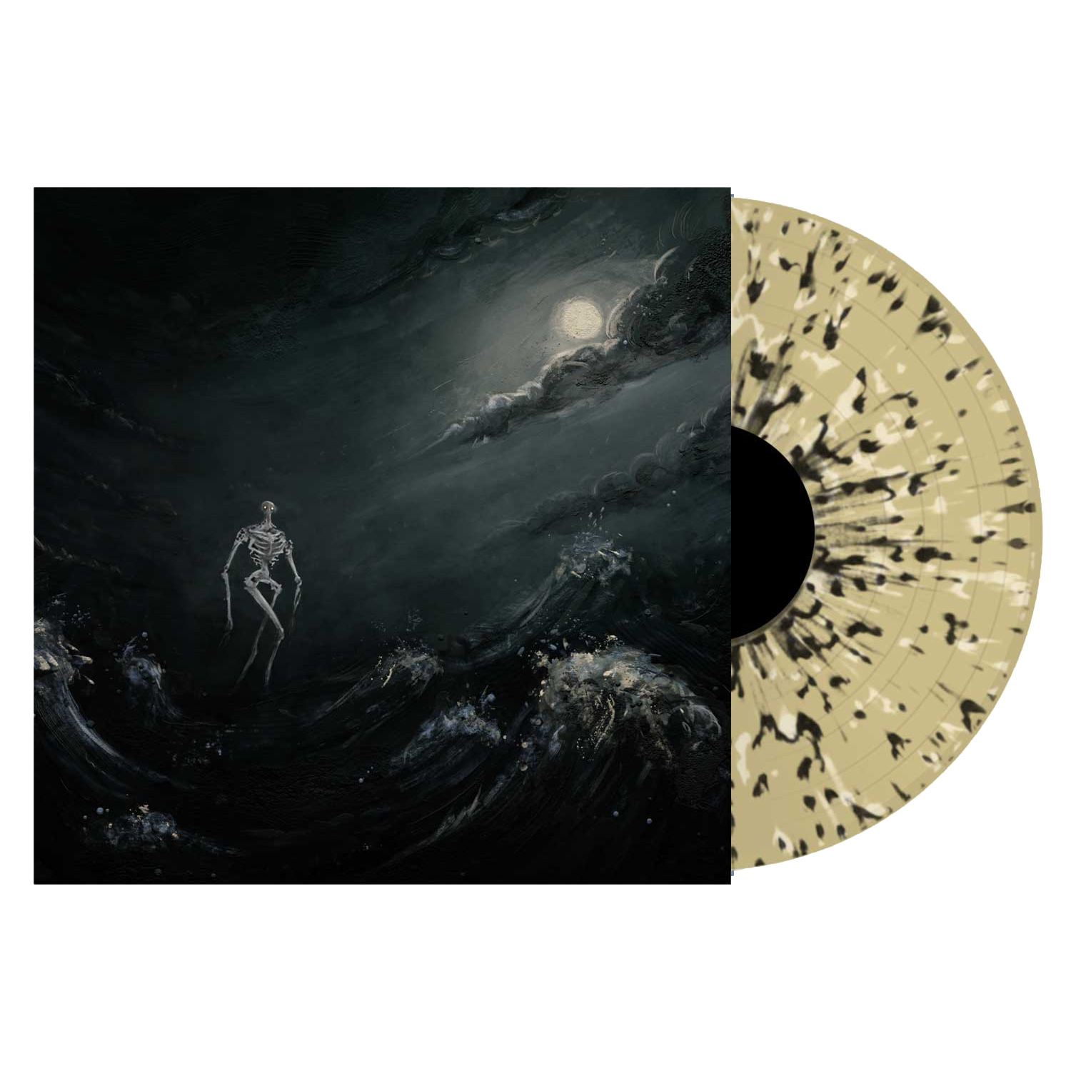 Broadside - 'Into The Raging Sea' Beer w/Black Bone Splatter Vinyl