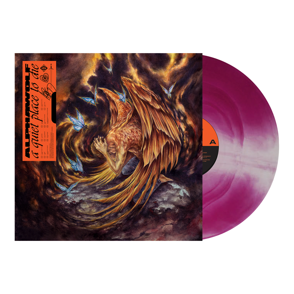 Alpha Wolf - 'A Quiet Place To Die' Purple Galaxy Vinyl