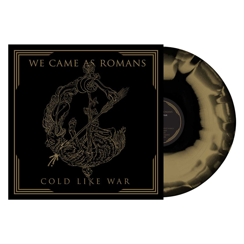 We Came As Romans - 'Cold Like War' (repressing) Black & Gold Swirl