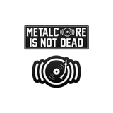 SharpTone Records - Metalcore Is Not Dead Enamel Pin Set