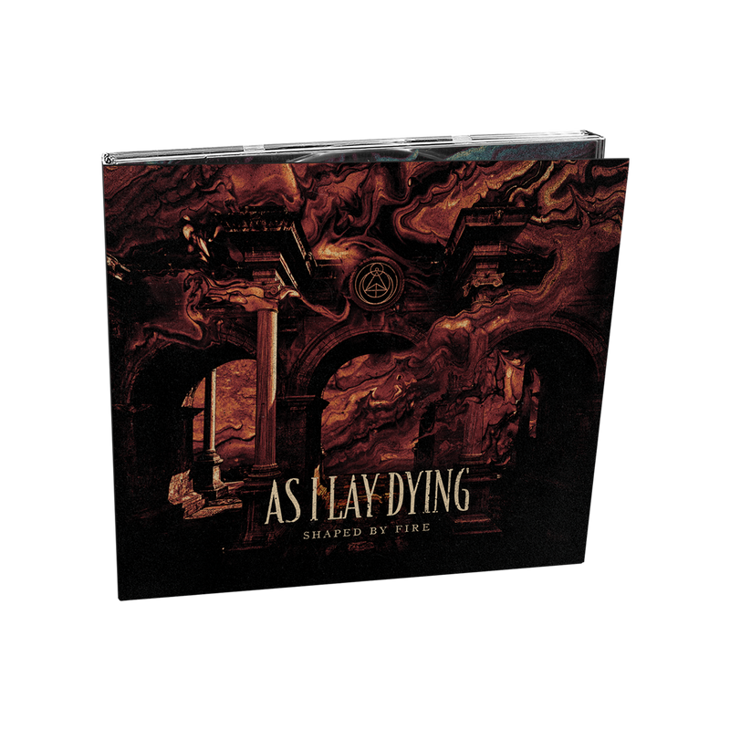 As I Lay Dying - 'Shaped By Fire' CD Digipak Pre-Order