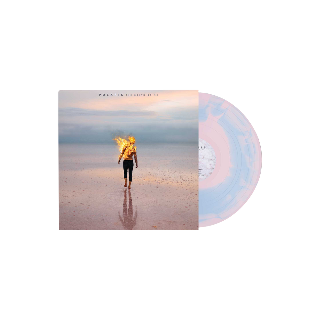 Polaris - 'The Death Of Me' Pink w/Sky Blue Swirl Vinyl