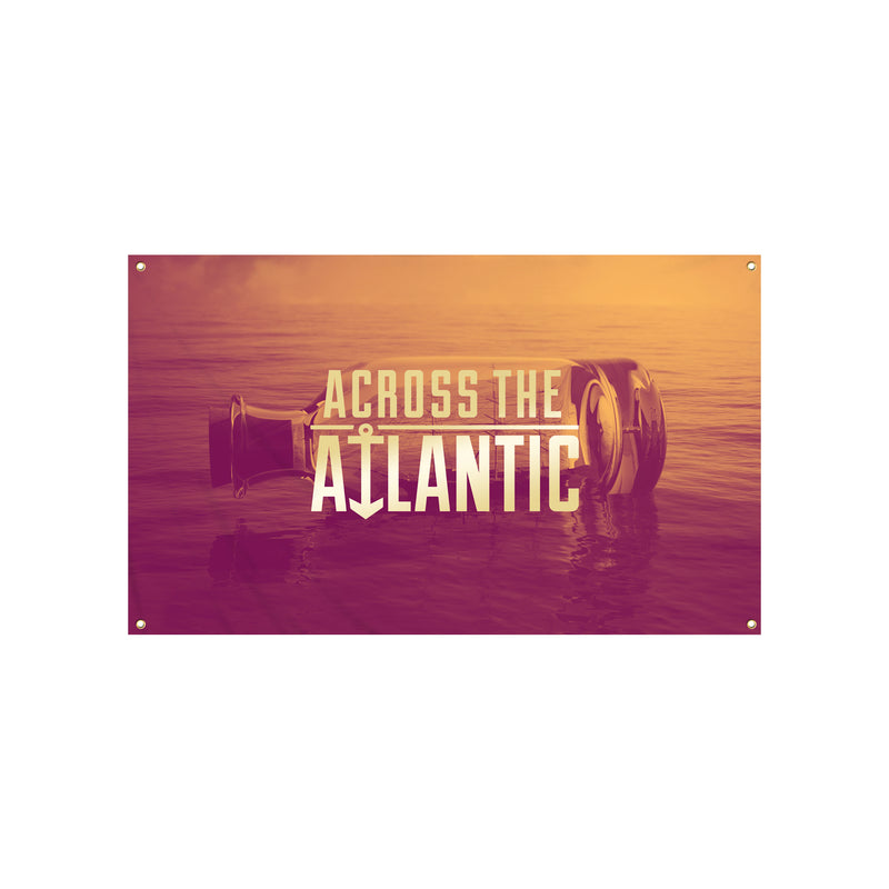 Across The Atlantic - Works of Progress Wall Flag