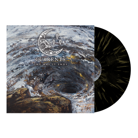 Currents - 'The Way It Ends' Black w/Yellow Splatter Vinyl