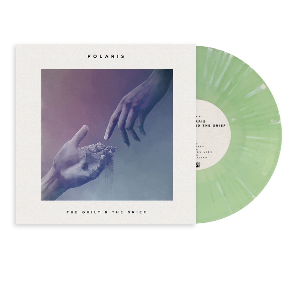"Polaris - ""The Guilt & The Grief"" 10"" Green w/ White Splatter Vinyl"