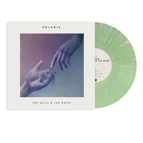 "Polaris - ""The Guilt & The Grief"" 10"" Green w/ White Splatter Vinyl Pre-Order"