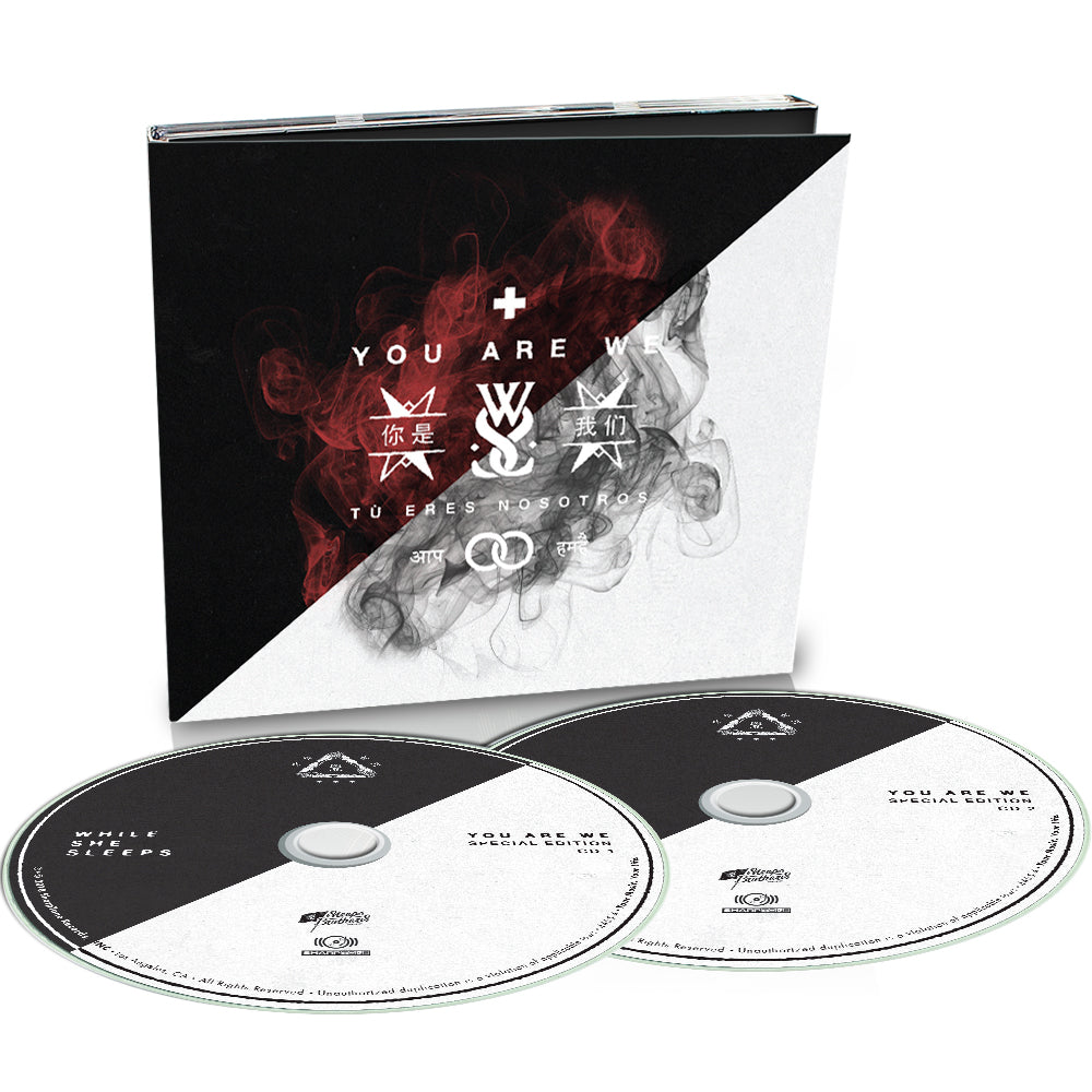 While She Sleeps - 'You Are We - Special Edition' Digipak CD