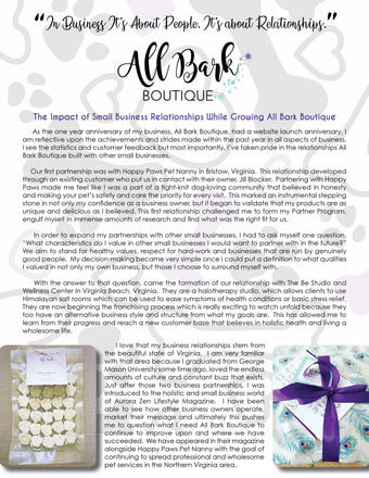 The Impact of Small Business Relationships While Growing All Bark Boutique