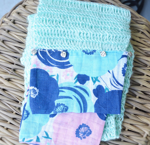 Dog Mom Drop Stitch Scarf (multiple colors available)