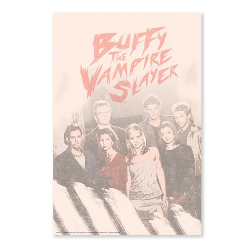 Buffy the Vampire Slayer Cast Poster