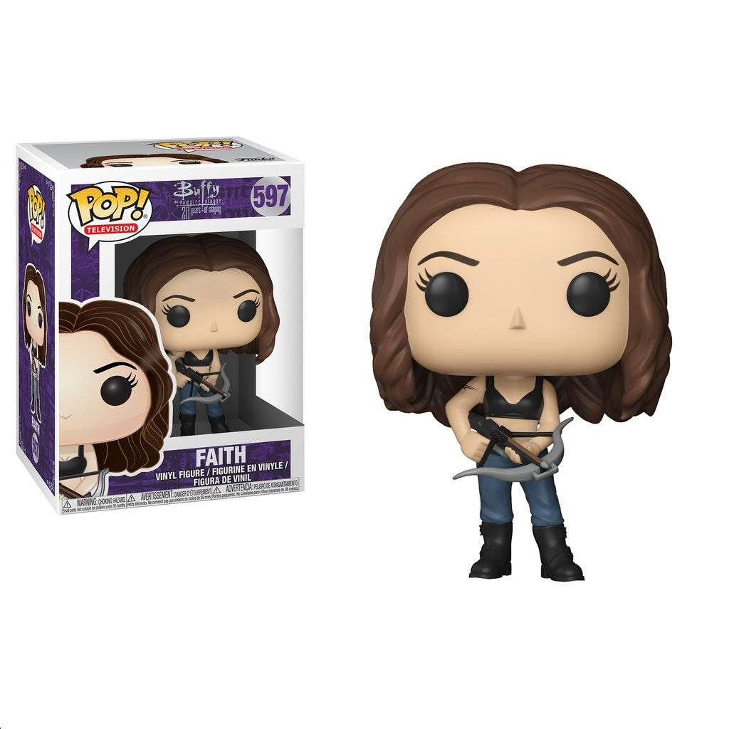 Pop! TV Buffy 20th Anniversary Faith by Funko